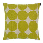 Marimekko Co-created cushion cover 40 x 40 cm, linen - green