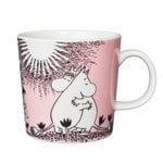 Arabia Moomin mug, Love, pink