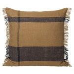 Ferm Living Dry cushion, 50 x 50 cm, sugar kelp - black
