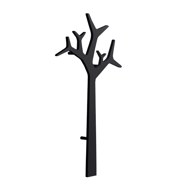 Swedese Tree wall coatrack 134 cm, black Finnish Design Shop