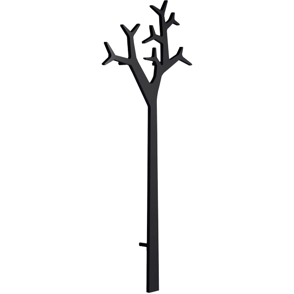 Swedese Tree wall coatrack 194 cm, black Finnish Design Shop