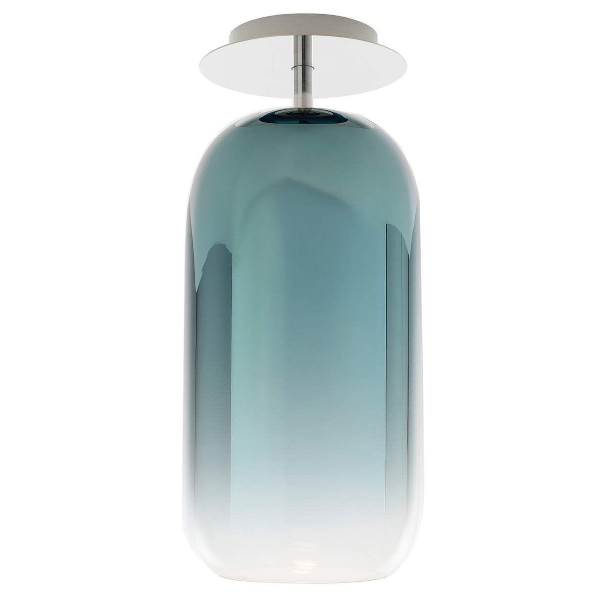 Artemide Gople Ceiling Lamp, Blue