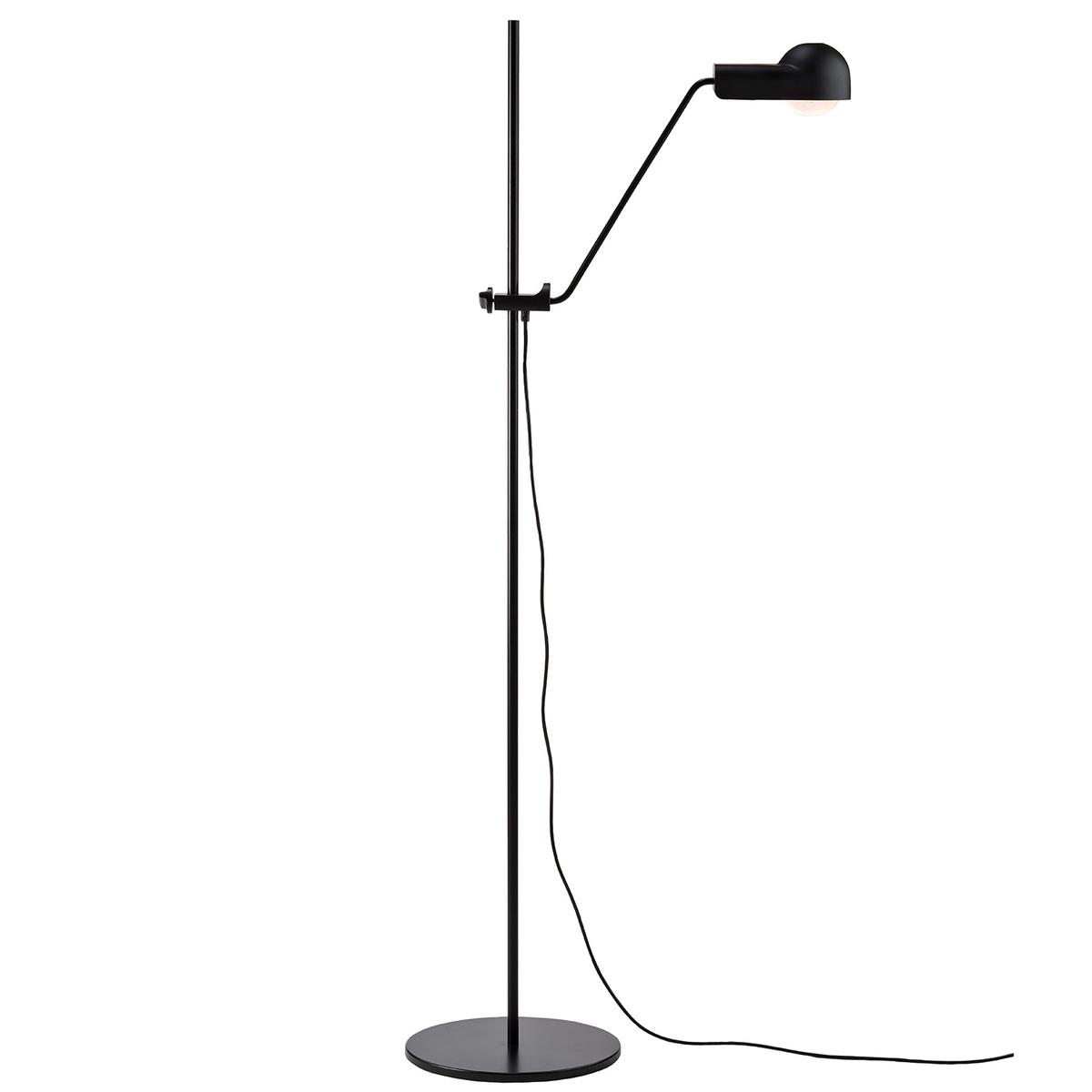 Karakter Domo Floor Lamp, Black