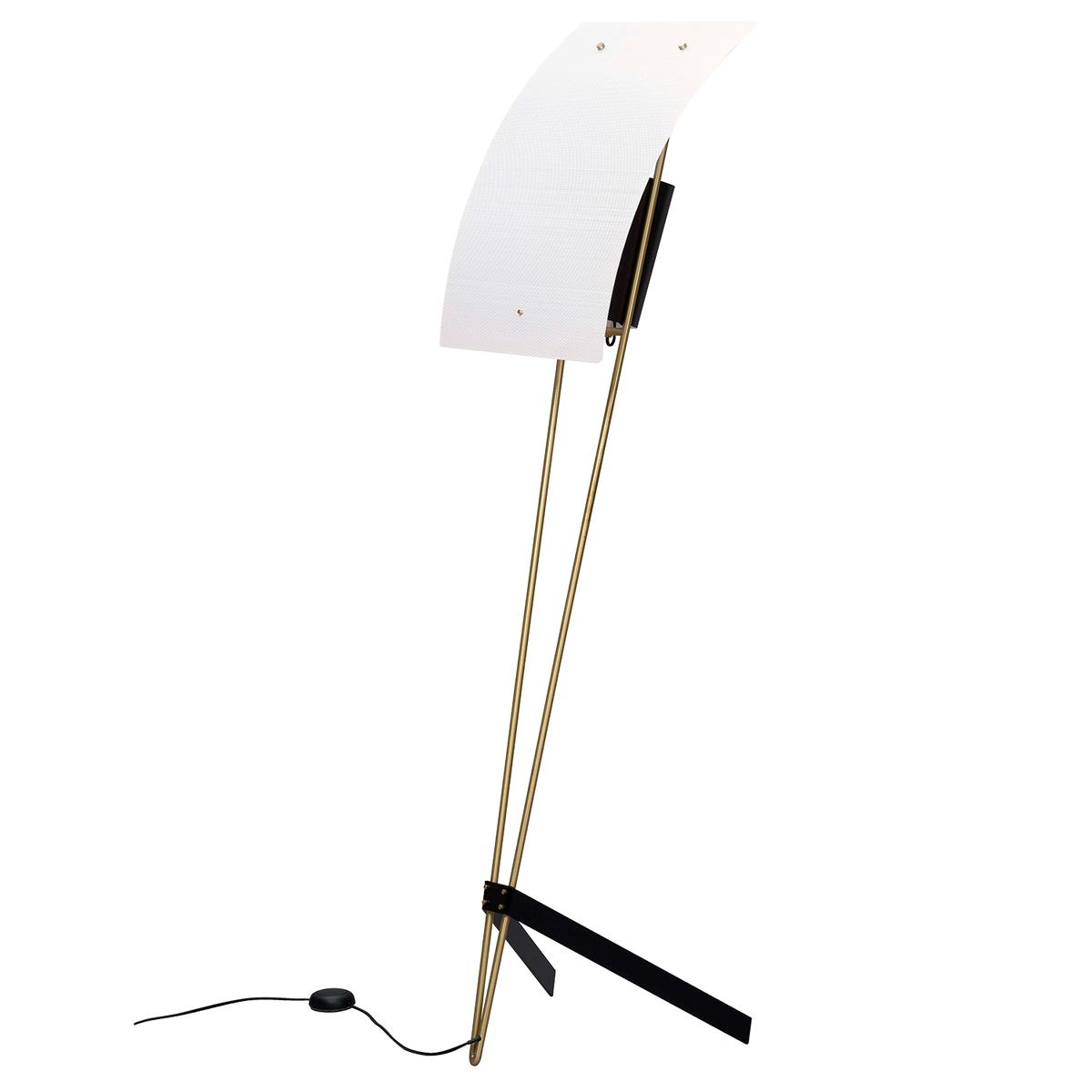 Sammode G30 Floor Lamp, Black - White