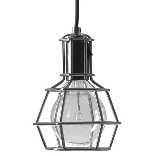 design house stockholm work lamp, silver | finnish design shop