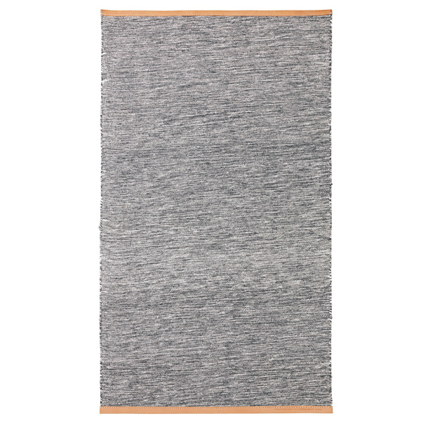 design house stockholm björk rug, bright grey | finnish design shop