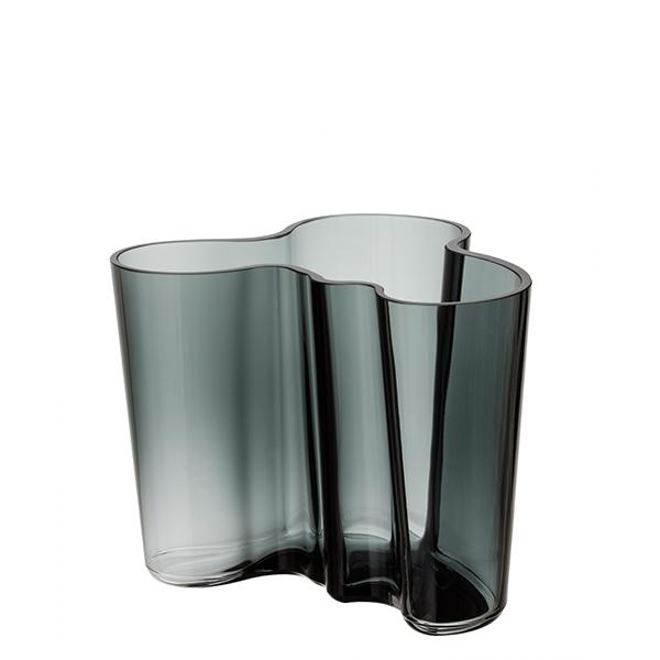 iittala aalto vase 120mm dark grey finnish design shop. Black Bedroom Furniture Sets. Home Design Ideas