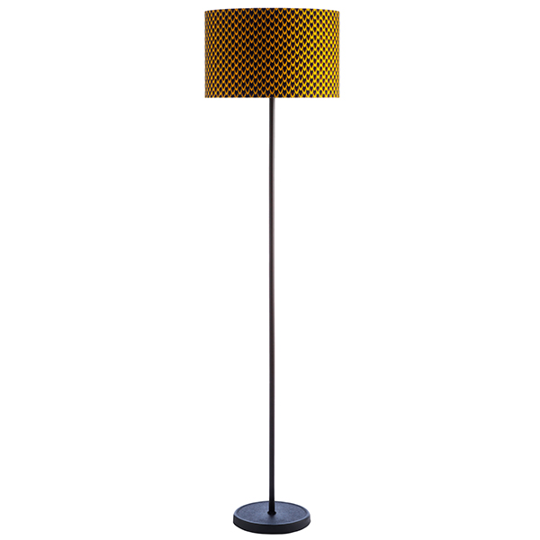 drum shade floor lamp fish scale - Drum Shade