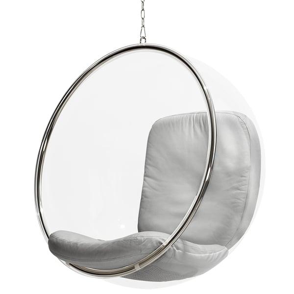 eero aarnio originals bubble chair silver finnish design shop. Black Bedroom Furniture Sets. Home Design Ideas