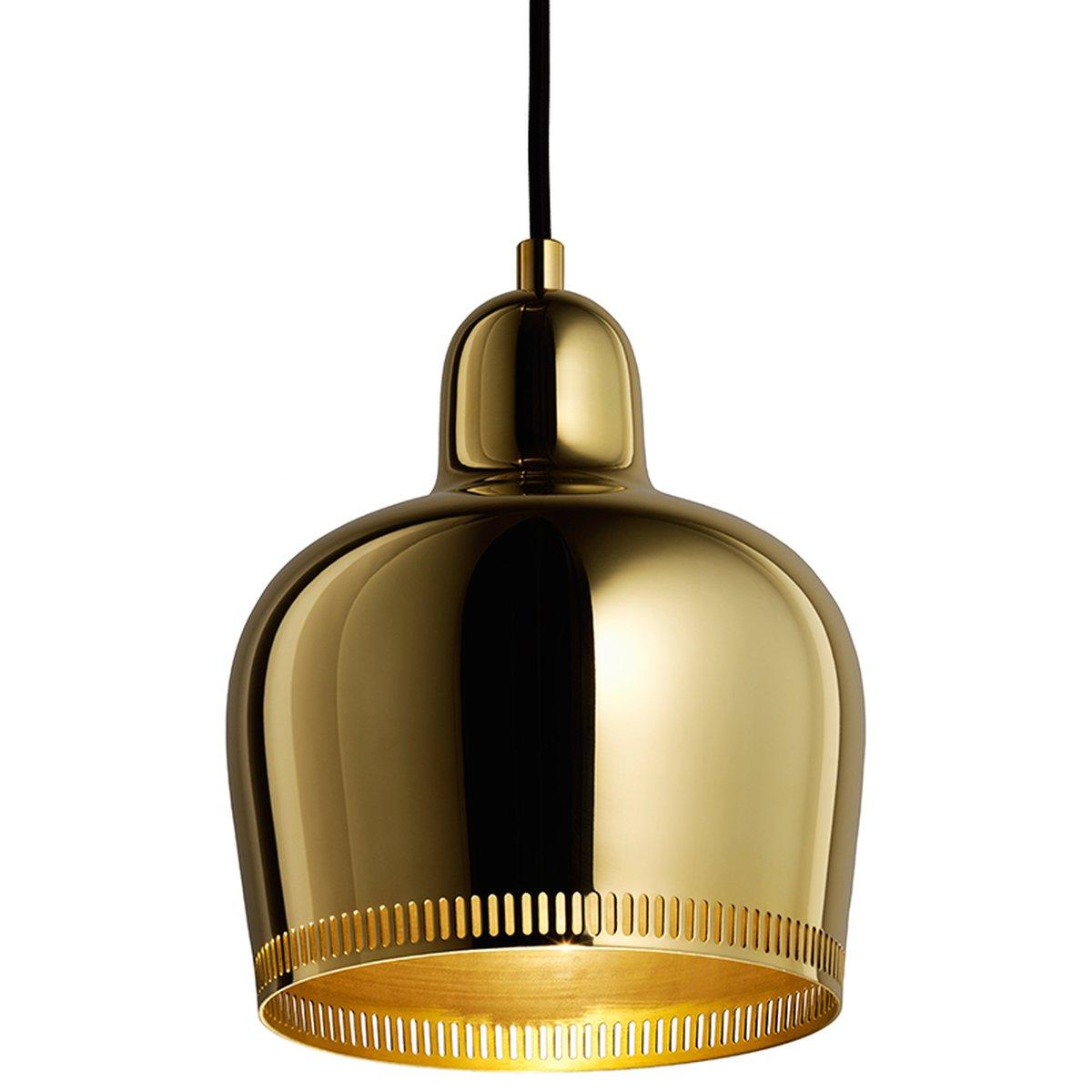Aalto Golden Bell Pendant A330S Savoy, Brass
