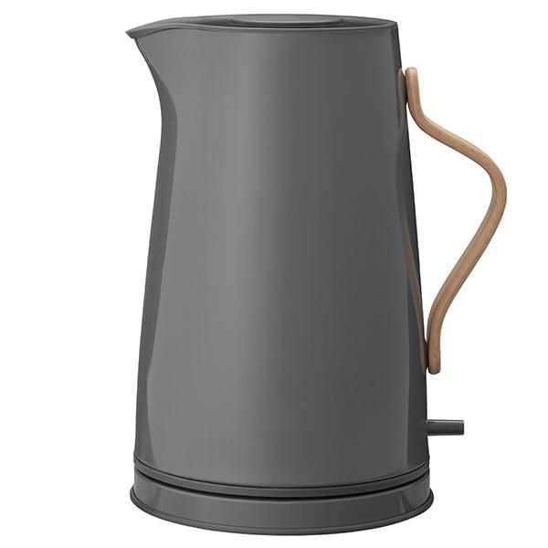stelton emma electric kettle grey finnish design shop. Black Bedroom Furniture Sets. Home Design Ideas