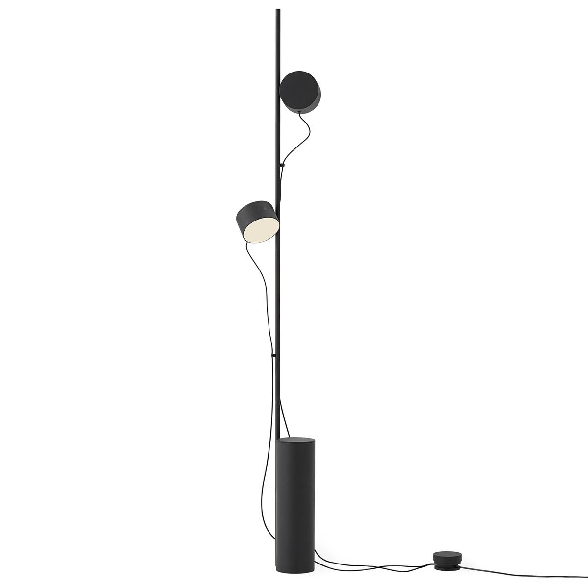 Muuto Post Floor Lamp, Black