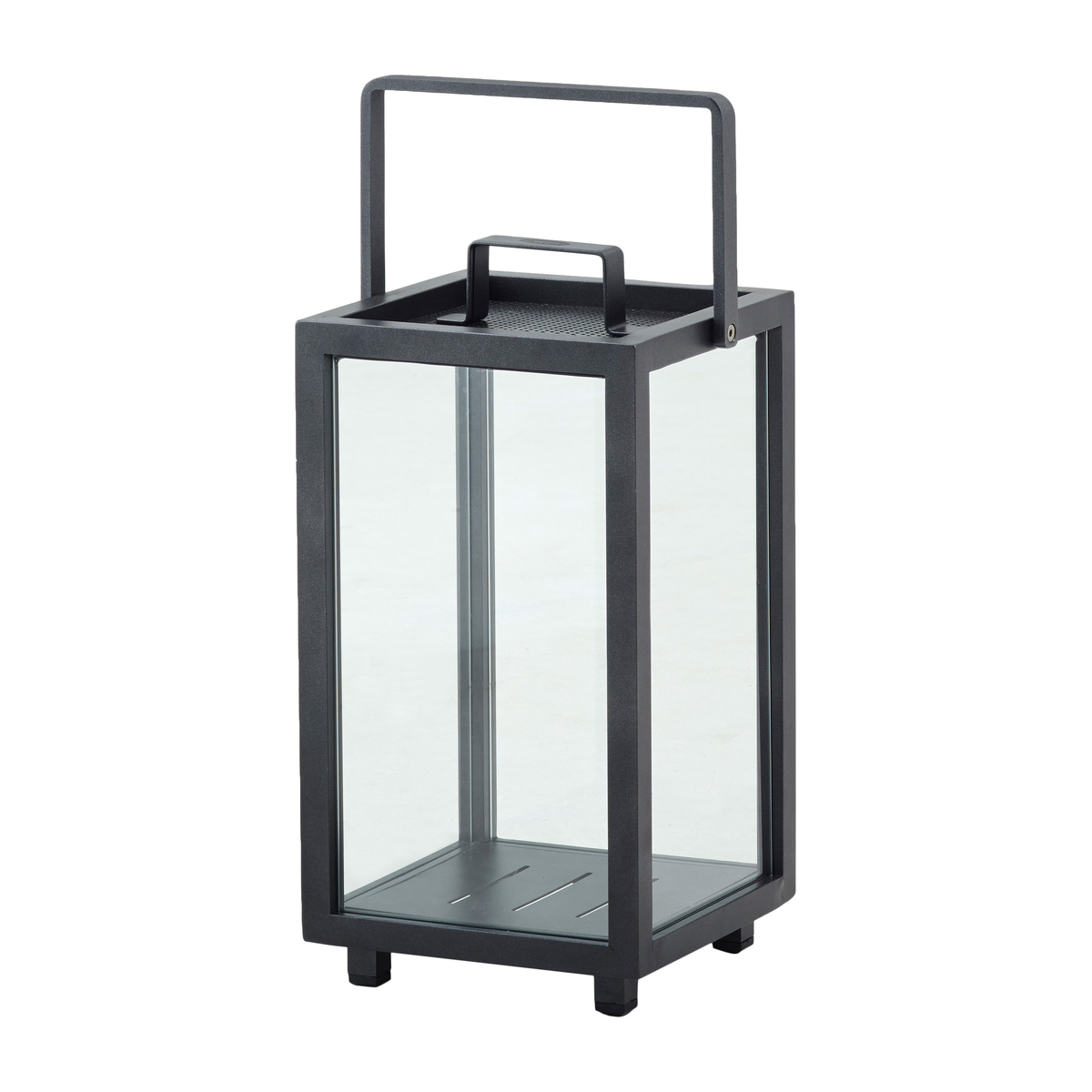 Cane-Line Lighthouse Lantern, Small, Dark Grey