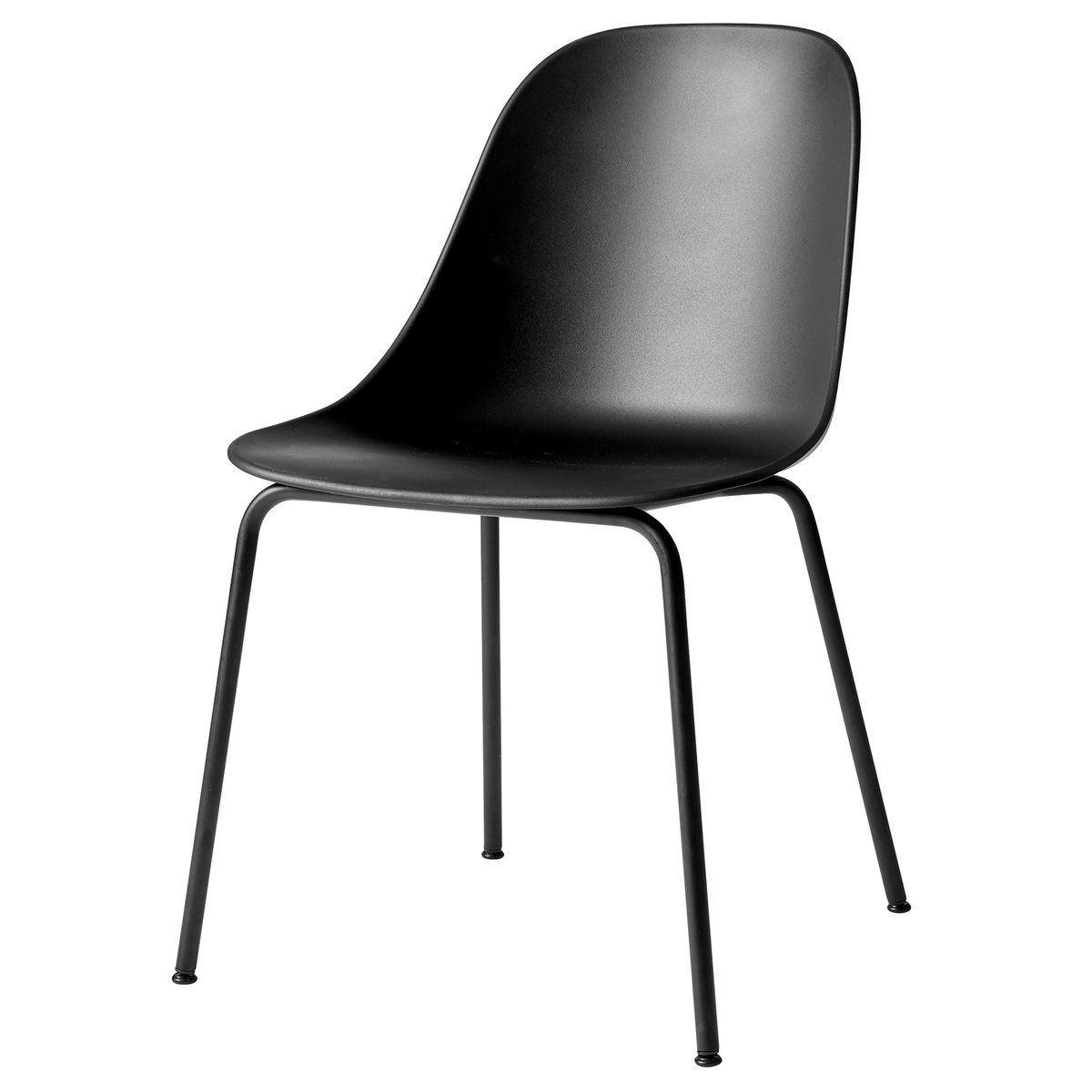Dining Side Chair Black Steel