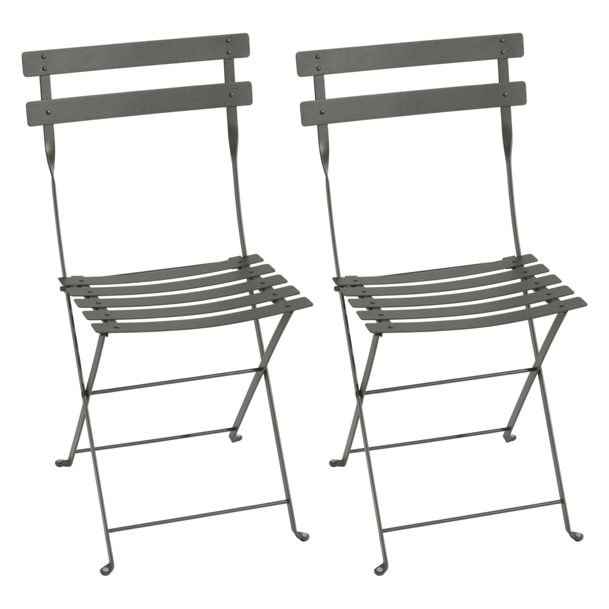 Bistro Metal Chair 2 Pcs Rosemary