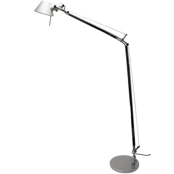 Artemide Tolomeo Lettura Floor Lamp, Aluminium