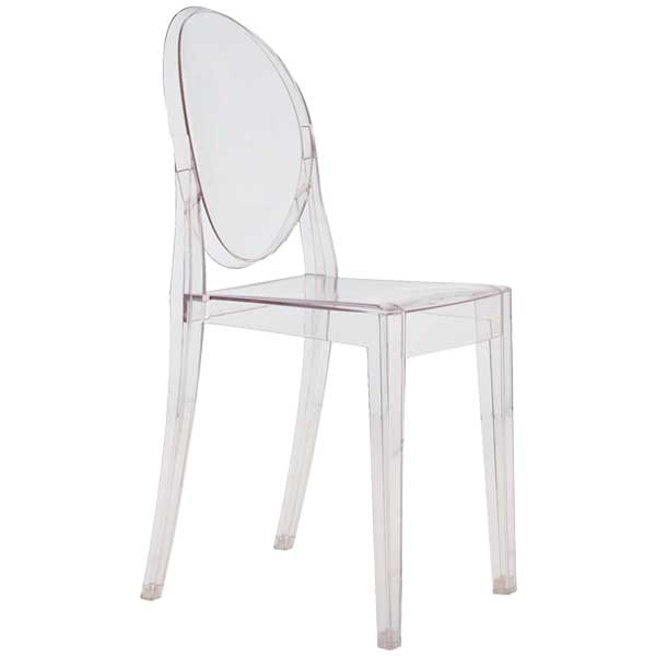 Kartell Victoria Ghost chair, clear | Chairs | Furniture | Finnish ...