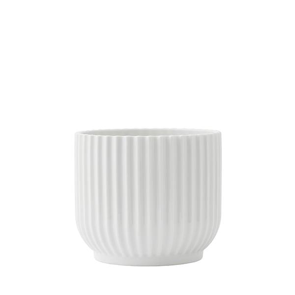 Small White Plant Pots Part - 37: Flower Pot, Small, White