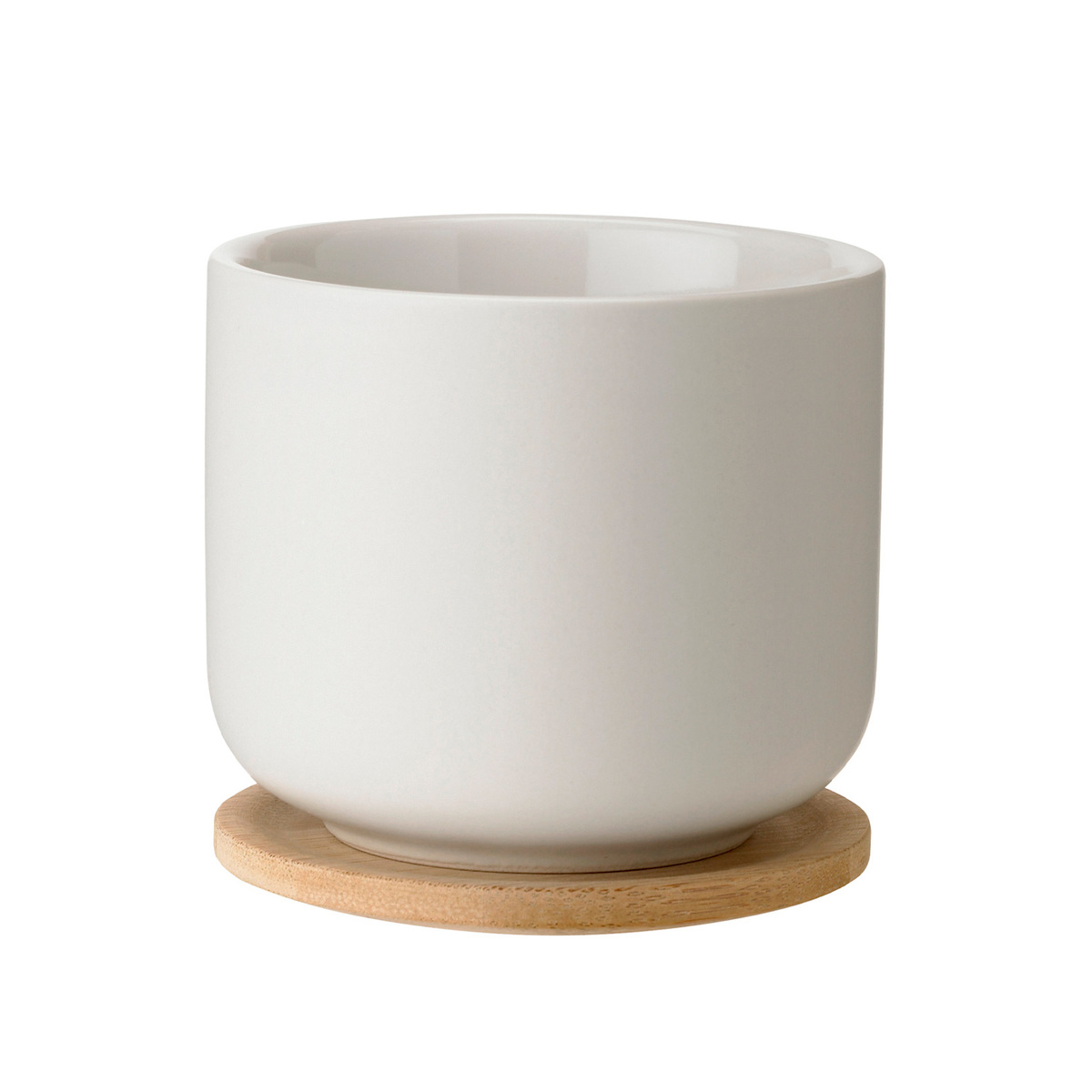 Stelton Theo Tea Cup With Coaster Sand