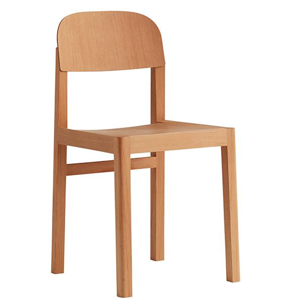 Muuto workshop chair oregon pine finnish design shop for Chair design workshop