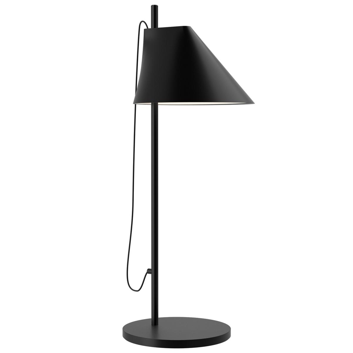 Louis poulsen yuh table lamp led black finnish design shop