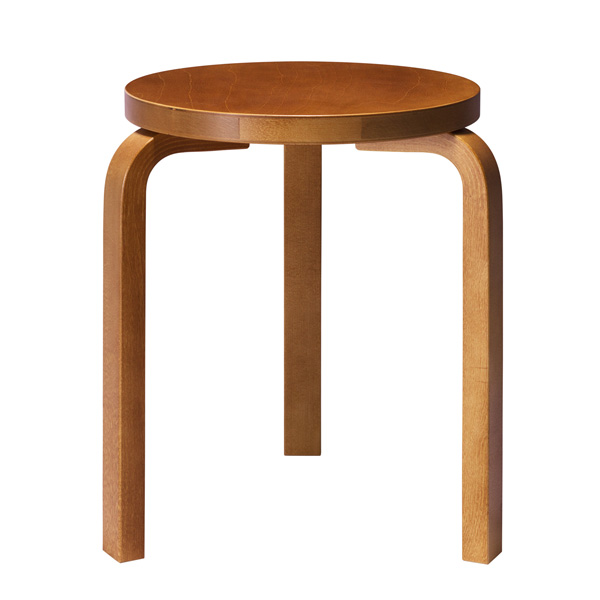 Artek Aalto jakkara 60, hunaja | Finnish Design Shop