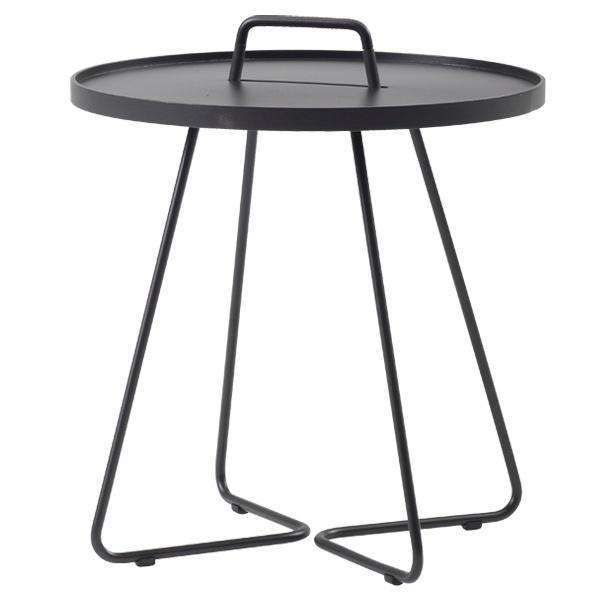 Cane line on the move table large black finnish design for Html table lines
