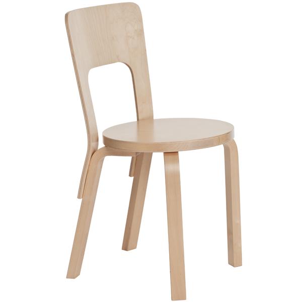 Artek Aalto tuoli 66, koivu | Finnish Design Shop