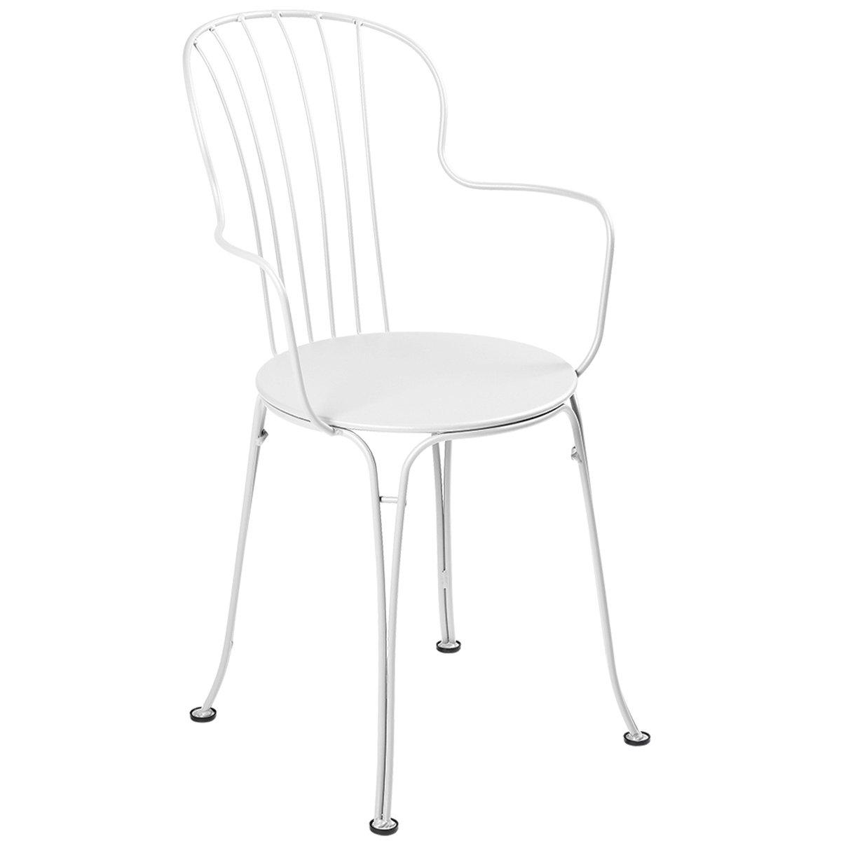 Fermob Opéra+ Armchair, Cotton White