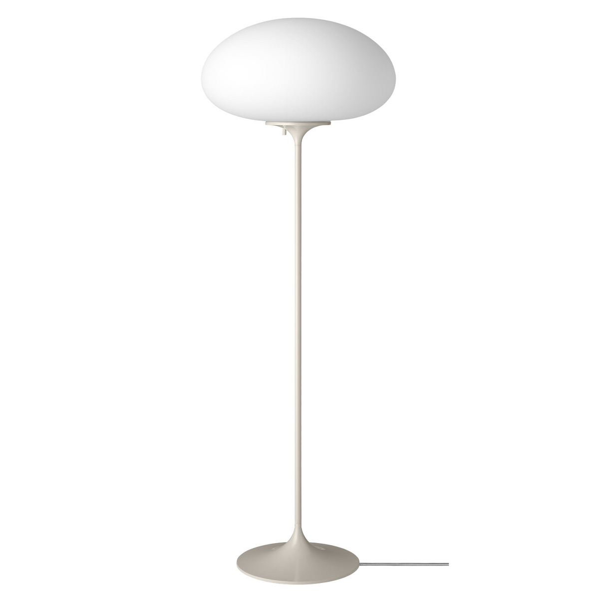 Gubi Stemlite Floor Lamp, 110 Cm, Pebble Grey