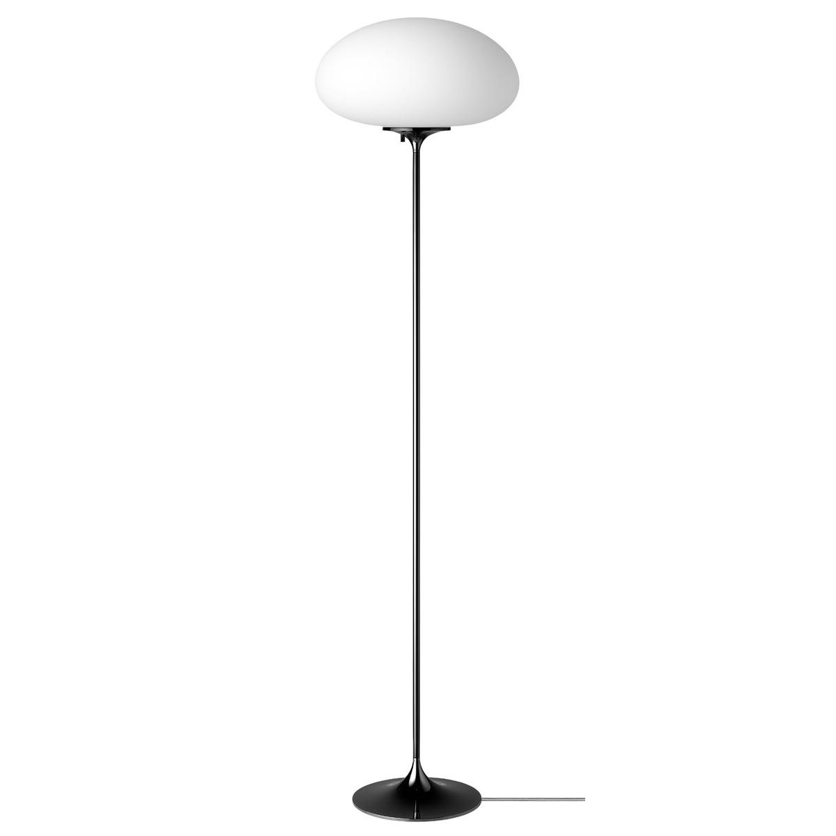 Gubi Stemlite Floor Lamp, 150 Cm, Black Chrome