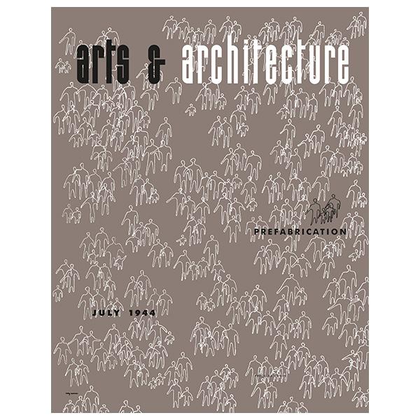 Vitra Cover Print juliste, Arts & Architecture, July 1944