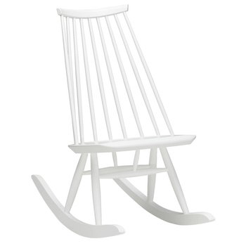 Artek Mademoiselle rocking chair, white
