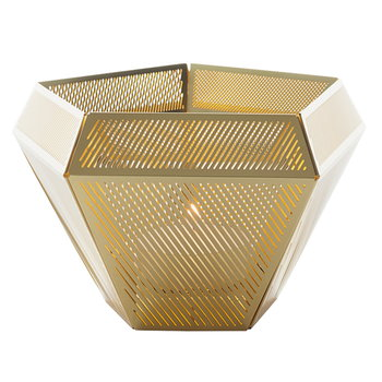 Tom Dixon Cell tea light holder, brass