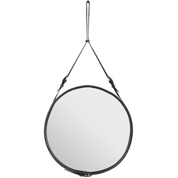 Gubi Adnet mirror L, black