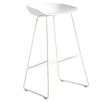 Hay About a Stool AAS38, white-white sled base