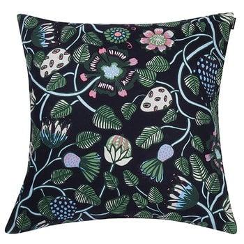 Pieni Tiara tyynynpäällinen, 50 x 50 cm, sininen-vihreä-harmaa