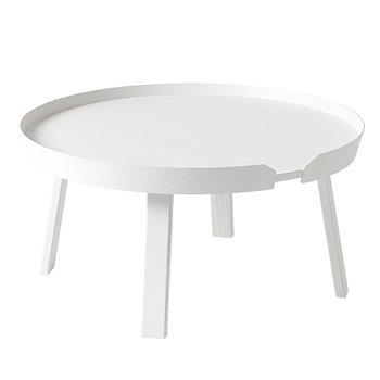 Around pöytä iso, valkoinen