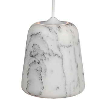 New Works Material lamp, Marble Light