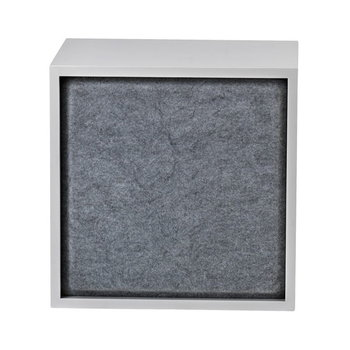 Muuto Stacked acoustic panel, medium, grey melange