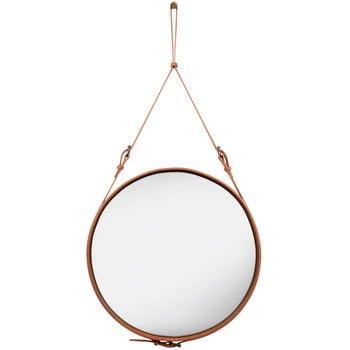 Gubi Adnet mirror L, tan