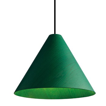 Hay 30degree pendant, small, green