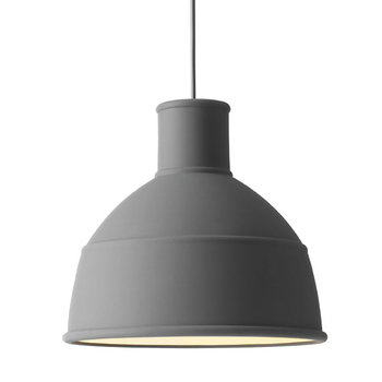 Muuto Unfold lamp, dark grey