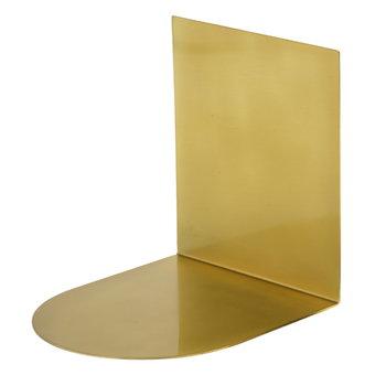 Klong Book Stopper, brass