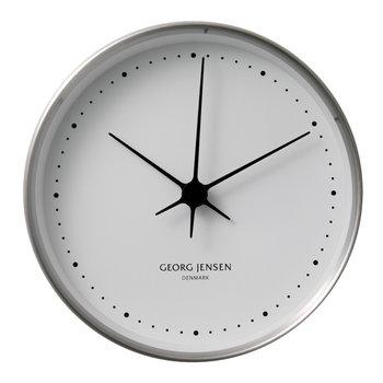 Georg Jensen HK Clock stainless steel, large