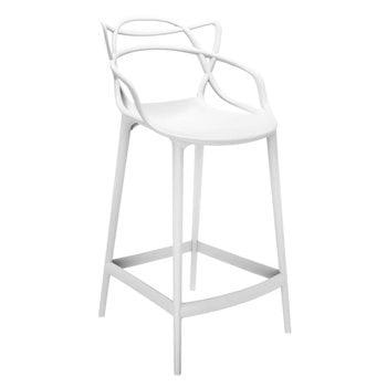 Kartell Masters stool, white