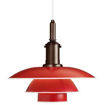 Louis Poulsen PH 3 1/2-3 pendant, red
