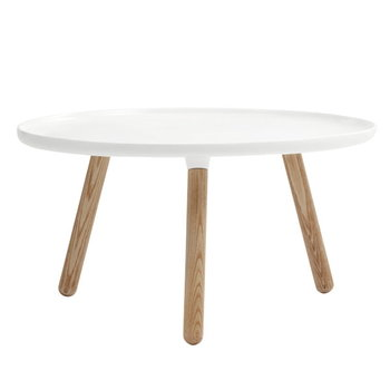 Normann Copenhagen Tavolo Tablo grande, bianco smaltato