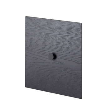 By Lassen Frame 28 door, black stained ash