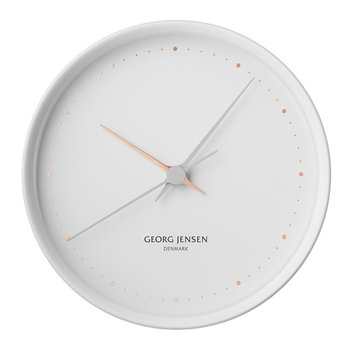 Georg Jensen HK Clock white, large